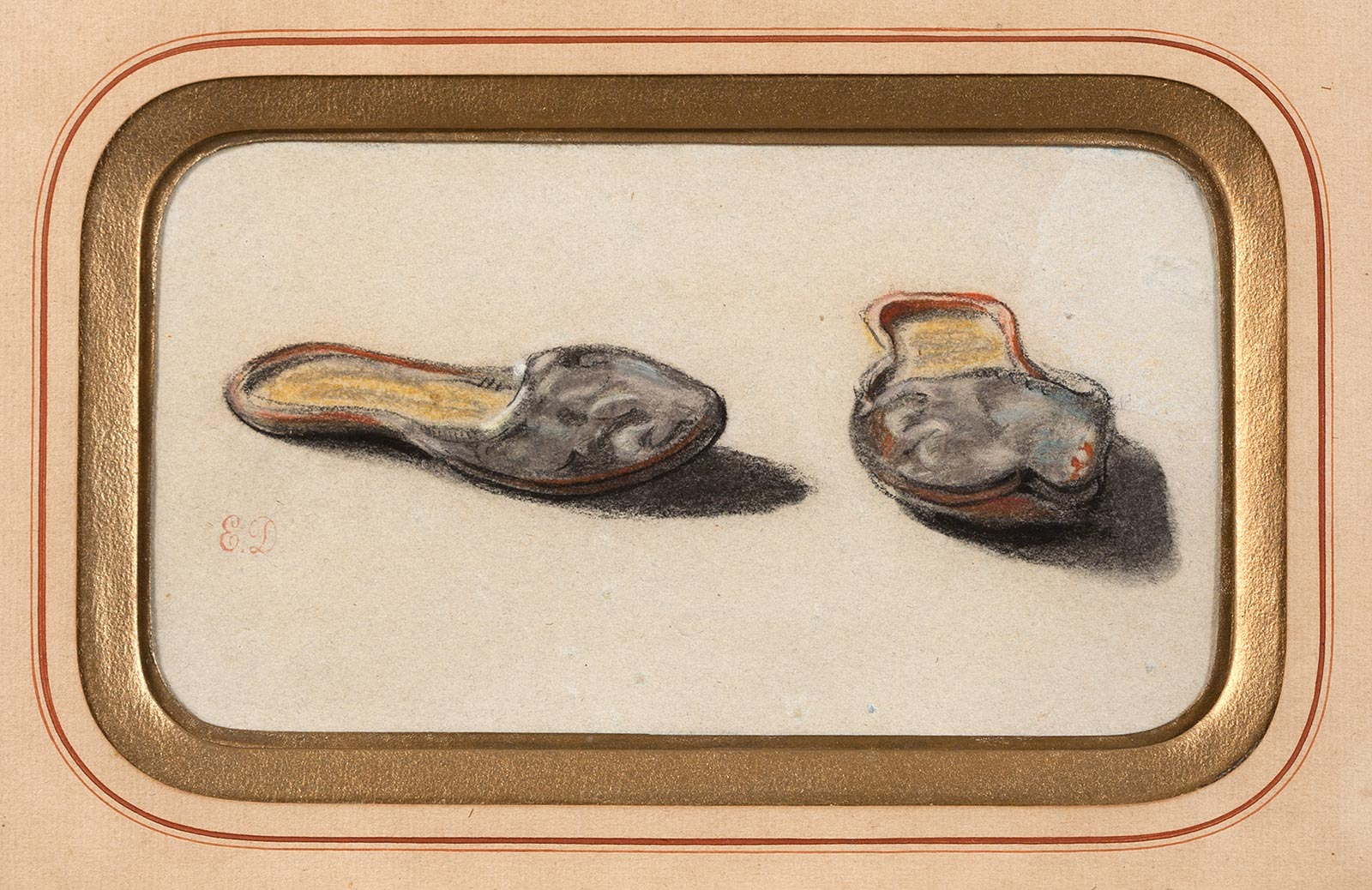 Study of Babouche Slippers